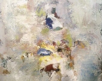Abstract Painting modern art contemporary expressionist art