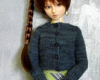 1/3 BJD girl cardigan sweater Nightblooming