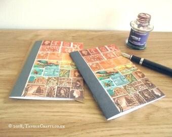Green Heron Sunset • Bird Lover Notebook & Card Gift Set