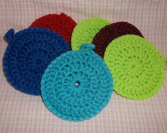"Large 4"" Body Scrubbys set of 2"