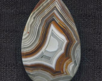 Crazy Lace Agate Designer Cabochon from Mexico
