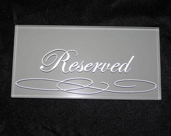 Reserved for Jaimee, calligraphy flourished spencerian
