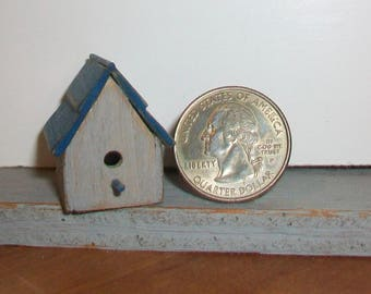 Miniature Bird House 1:12 scale