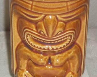 ON SALE Vintage Orchids of Hawaii Tiki Mug Leilani Warrior R91