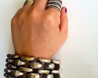 40% SUMMER SALE The Rock Out Cuff  Bracelet