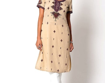 40% OFF The Vintage Indian Style Tunic Dress