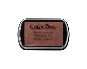 Rose Gold Metallic Colorbox full size ink pad