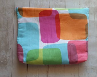 Planner Pouch - Rainbow abstract