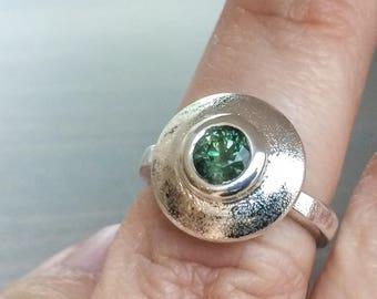 Sapphire Ring, Sapphire Engagement Ring, Anniversary Ring, Australian Sapphire Ring, Alternative Engagement Ring, Promise Ring, Fine Jewelry