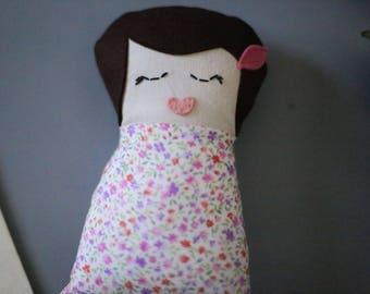 Mini Rag doll | Handmade Doll | Handmade Toy | Soft Toy | Heirloom Doll | Cloth Doll | Fabric Doll | Christmas Gift | Baby Doll