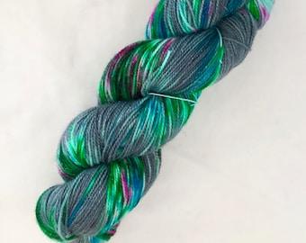 Hand-dyed Stellina Merino Sock Wool 4 ply
