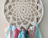 """Dream Catcher for Party or Room Decor YOUR theme colors. 6"""" dreamcatcher Party Decoration.  Perfect for Boho, Woodland, Tribal and More"""