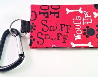 The Bag Buddy - Dog Mess Bag Pouch / Poo Bag Dispenser / Pet Leash Bag / Dog Waste Bag / Pet Accessories