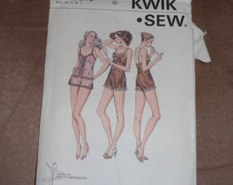 Kwik Sew 940 Sewing Pattern Womens Teddy & Camisole Misses Size XS-XL  Kerstin Martensson