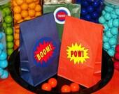 Custom Listing For jasmeenahdi For 20 Small Superhero Theme Goody Bags