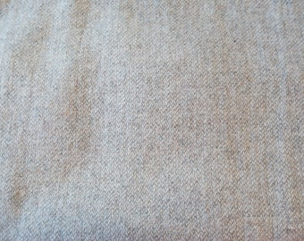 Fat Eighth - Wool Fabric - 100% Wool Felted Wool Fabric - Textured Oatmeal