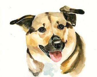 RESERVED LISTING FOR Becky 2 custom pet portrait