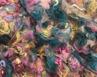 Alpaca Fiber, Suri and Huacaya Alpaca, Hand-Dyed and Natural Colored Fiber