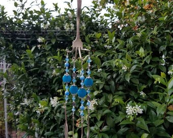 wind  chime Made from silver plated silverware