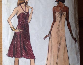 Vintage Vogue Very Easy Patterns 8724 Dress - size 12