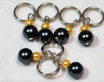 Umbreon Pokemon Inspired Knitting Stitch Markers Crochet Pokémon Eeveelution Markers