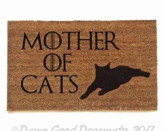 Mother of CATS daenerys targaryen Game of Thrones GOT outdoor fandom doormat