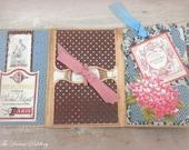 Birthday Florale. 4x6 Album Card