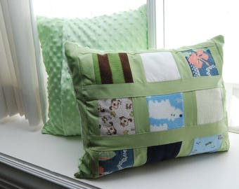 "Reserved for Shannon H - Pillow Sham - Baby Clothes 30"" x 24"" - 50% deposit on 8 pillows - Payment 2 of 2"