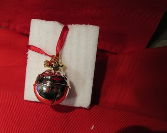 LENOX Vintage Christmas Bell  Collectible ornaments  Christmas  Bell Original Box