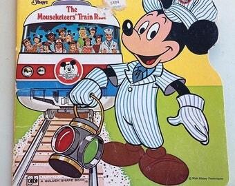 1977 Disney Mouseketeers paperback book