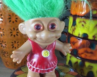 Vintage 70s Troll Doll
