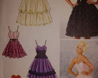 Summer Designer Party Dresses--Multi Sizes 8-16 UNCUT Pattern -- 20-50% off Patterns n Books SALE