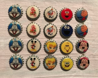 "Bottle Caps ""Cartoons"""