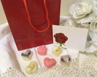 Soy Wax Melts x 6 Gift Bag and Card