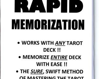 TAROT RAPID MEMORIZATION book