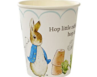 Peter Rabbit Paper Cups by Meri Meri