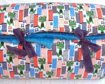 SALE  Dino On the LOOSE One of a KIND Quilted Nap Mat by Janiebee  Toddler Nap Mats Boutique Sleep Mats