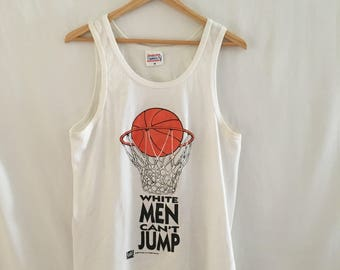 1992 White Men Cant Jump // Spike Lee // Movie T-Shirt // Tank Top