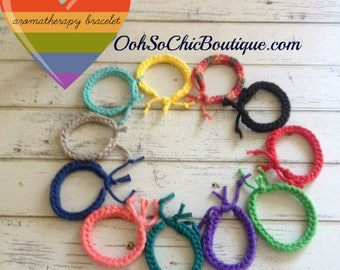 Adjustable Diffuser Bracelet, Aromatherapy Bracelet, Essential Oil Bracelet, Fun Summer Colors, Bracelets for kids, BUY 4 GET 1 FREE