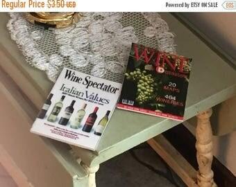 SALE Miniature Wine Magazines, Dollhouse Miniatures, 1:12 Scale, Set of 2, Dollhouse Accessories, Decor, Mini Magazines