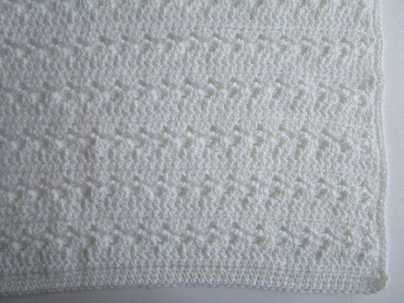 easy crochet blanket instructions