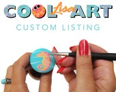 Special Reserved Listing - A custom COOLISART creation made just for you, Shannon