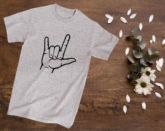 ASL I Love You Shirt