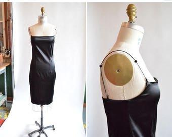 25% off Storewide // Vintage 90s DESIGNER bodycon dress