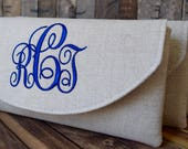 This is a special order for ... CARY ... 1 Brides Clutch w/monogram