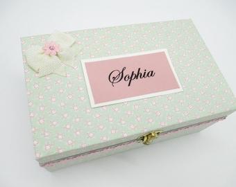 Birthday Letters - Photo Keepsake Box -Time Capsule - Baby Shower Gift - 18th. Birthday Gift- Wooden Keepsake Box