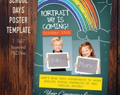 11x17 Poster Template -Photoshop File ONLY
