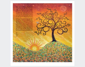 Ketubah: Bring on the Bright