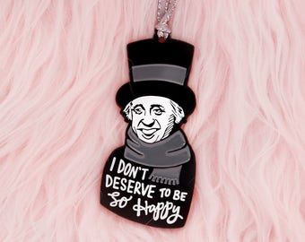 A Christmas Carol Scrooge Christmas ornament