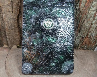 20% OFF Witch's Journal, Pentacle Book of Shadows, Witchcraft, Wiccan Spellbook, Tarot Journal, Witchcraft Grimoire, Dream Journal, Pagan, W